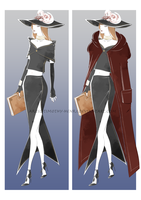 (CLOSED) - Costume Adoptable Set #003 by Timothy-Henri