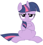Angry Twilight Vector by SuperPonytime