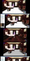 MMD Tutorial How to fix a stage by MMD3DCGParts