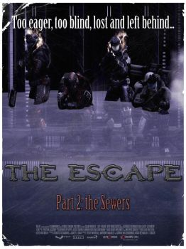 HALO L4D Poster 2 - The Escape by DharionDrahl