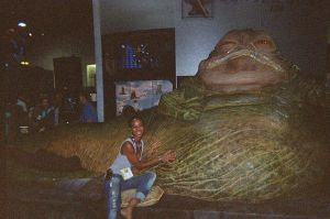 Me and Jabba by LockettDown