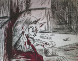 Sonic's Pain by rodrithehedgehog