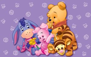 Baby Pooh Kids by rjonesdesign