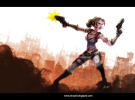 Sheva alomar for Battle artist challenge by shoze