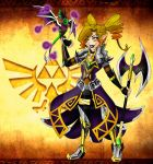 Delia: (DRae) Hyrule Warriors style by MoonShadowDRAE