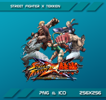 Street Fighter X Tekken Dock Icon by Dohc-WP