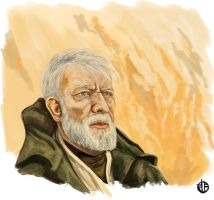 Obi Wan by BrettBarkley
