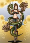 Chinese star sign - Dragon by H-Chan-Arts