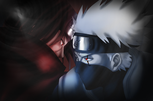 Sharingan vs. Sharingan by Yaji123