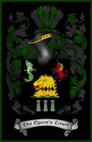 Queen's Court Crest by The-Queens-Court