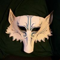 Frost wolf mask by SeraphicWS