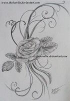 Flower_Tattoo Design by TheKarelia