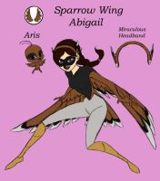 Miraculous Sparrow Wing by Dragonauroralight