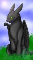Toothless by RynnOfThCrimsonWings