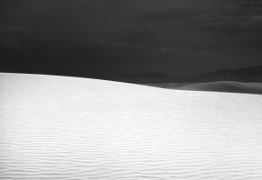 White Sands Mono by Meenigma
