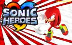 Sonic Heroes - Knuckles Wallpaper by Knuxy7789