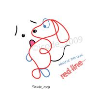 afraid of the dog?_is red line by jcode