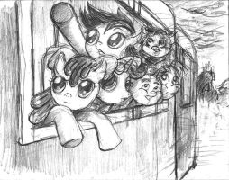 The Cutie Mark Crusaders - THe Mission by TheLivingShadow