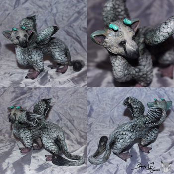 Trico Sculpture 1 - Angles #1 by Yukilapin