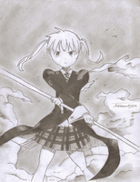 Maka's Entrance by tehawsumninja