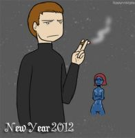 Cherik New Year P2 by RaelynnMarie