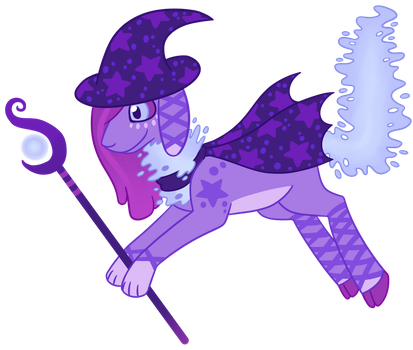 Witch Cloudaroo auction CLOSED by CatbunAdopts