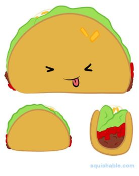 Please Vote For Me! .:Squishable Taco:. by Ambercatlucky2