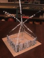 Paper Tube Tower Design by MoonSpider95