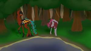 In the Forest by Kitty-Kaye