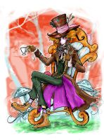 MAD HATTER, SOMBRERERO LOCO by favius