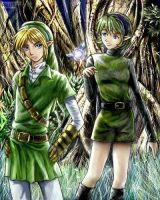 Link and Saria collaboration by Soreiya
