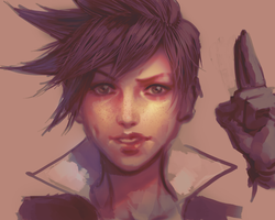 OverWatch:Tracer by atutcha