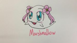 Marshmallow the Baby Boo by RussellMimeLover2009