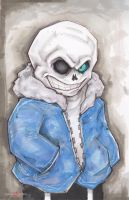 Undertale Sans by ChrisOzFulton