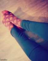 .dots n tights. by taintedxblissx