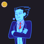Ace Attorney Emoji 1 by inthedesertwithgirls