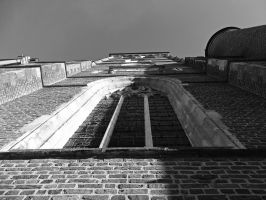 Church tower - Aalter by UdoChristmann