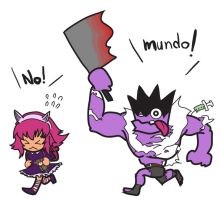 Mundo go this way by ms05zaku
