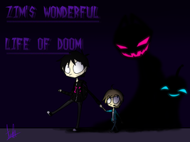 .Zim's Wonderful Life of Doom Cover. by InterstellarDream