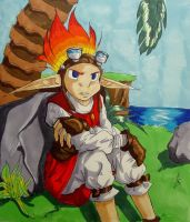 Suffering in silence- Daxter by Demyrie