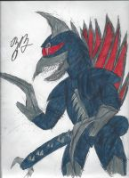 Gigan by GoroKai