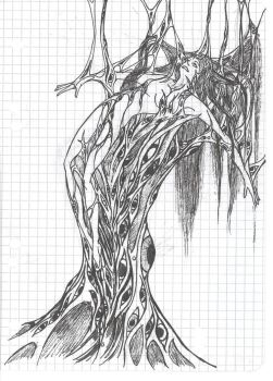 Agony Sketch by A-G-Delore