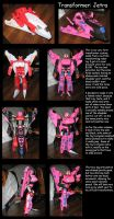 Transformer custom: Jetra by Wakeangel2001