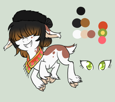 Russian Themed Goat for Quinsecticide by Pappins