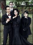 The Addams Family by Faxen