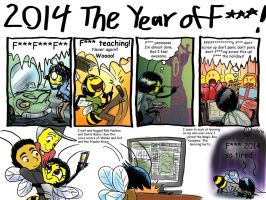 Beeswax Test: 2014 The Year Of F*** by InYuJi
