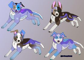 Pups Adopts!! by Themystichusky