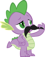 wonderful spikestache by YellowTDash