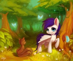 mlp my friend  tree by ciciya9318