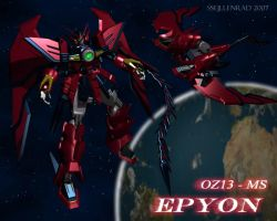 My New Epyon by ssejllenrad2
